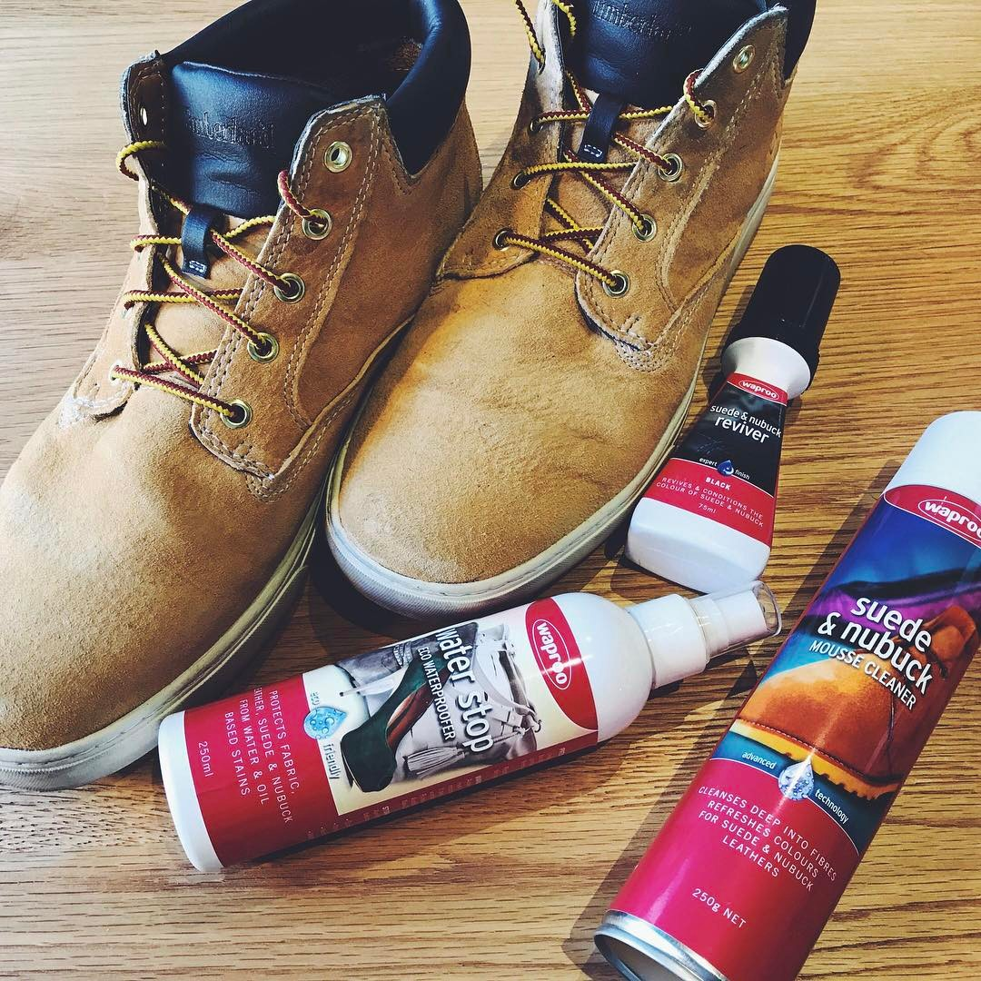 Winter is coming! Keeping dry by waterproofing your boots and give them the proper treatments they deserve that help prolong their life and lustre.  #waproo #boots #shoecare #shoewaterproofing #suedecare #suedeconditioner #suedecleaner #madeinmelbourne