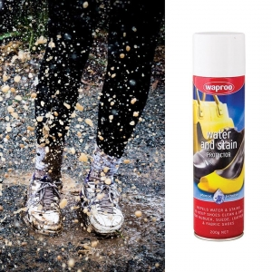 Protect your shoes from the elements with Waproo Water & Stain Protector. Preserves and protects footwear, coats, gloves, handbags and accessories made from leather, synthetics and fabrics. Available in 100g or 200g. Visit our website to find out more, link in our bio.