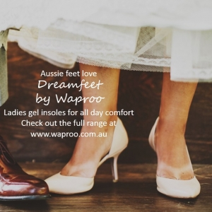 Aussie feet love DREAMFEET by Waproo, ladies gel insoles for all day comfort. For more information visit the link in our bio.